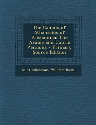 The Canons of Athana...
