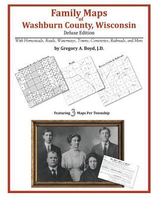 Family Maps of Washburn County, Wisconsin