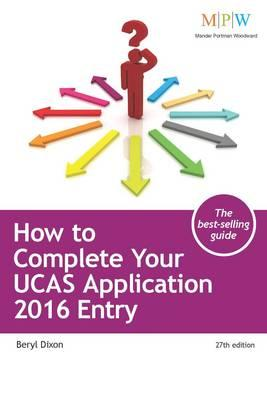 How to Complete Your UCAS Application