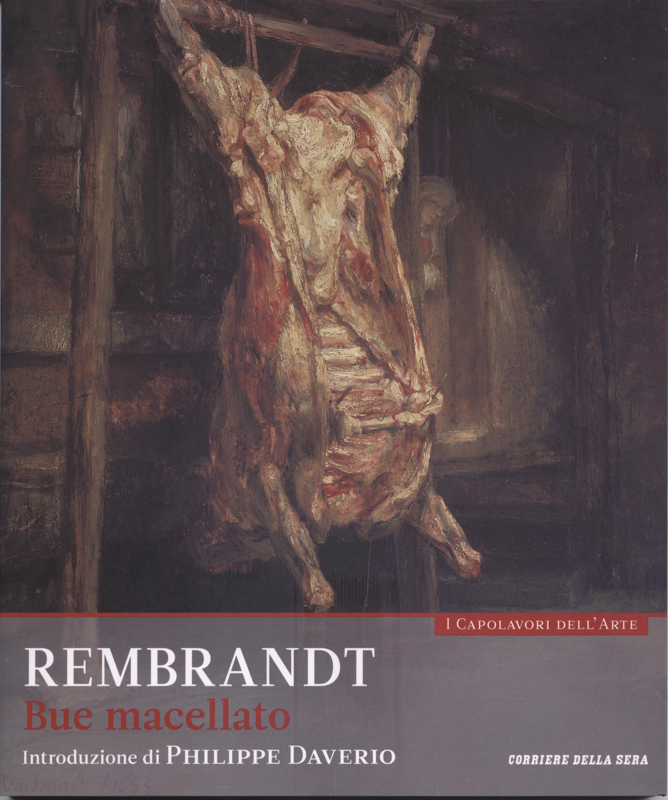 Rembrandt - Bue macellato