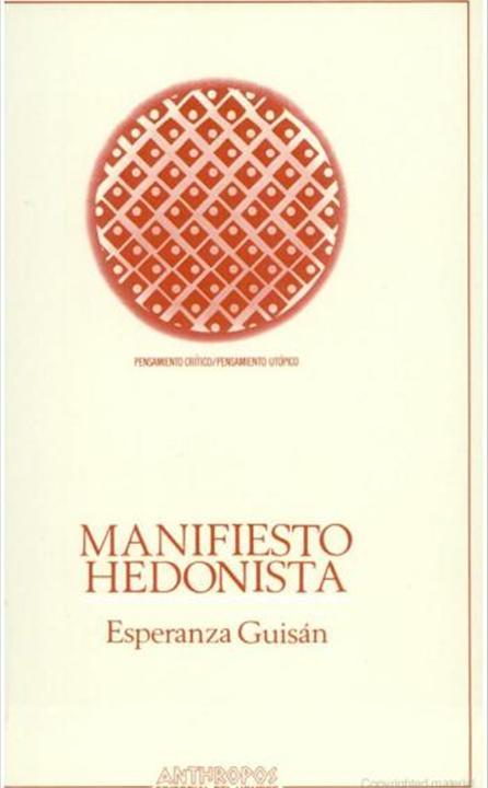 Manifiesto hedonista
