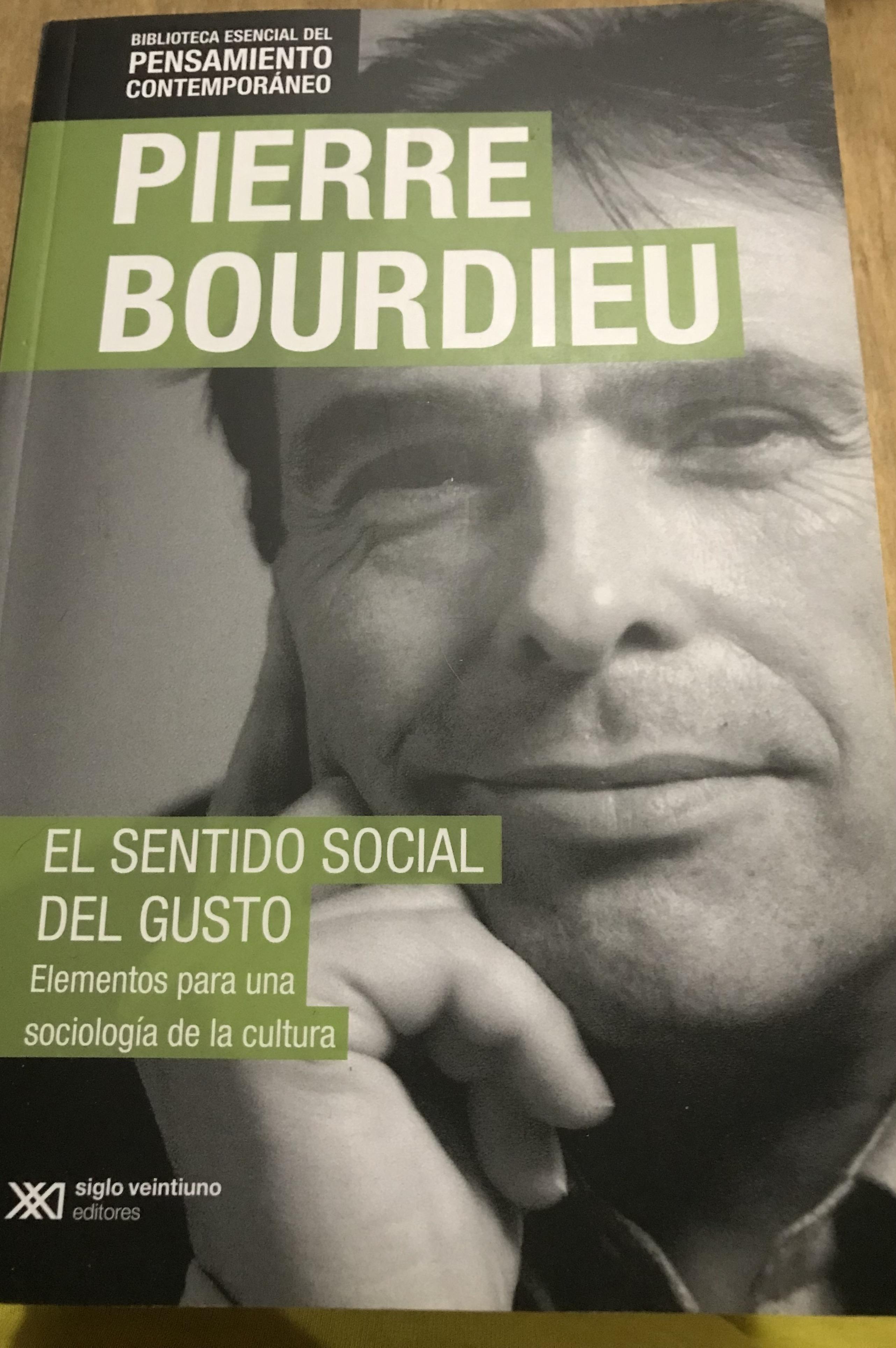 El sentido social del gusto