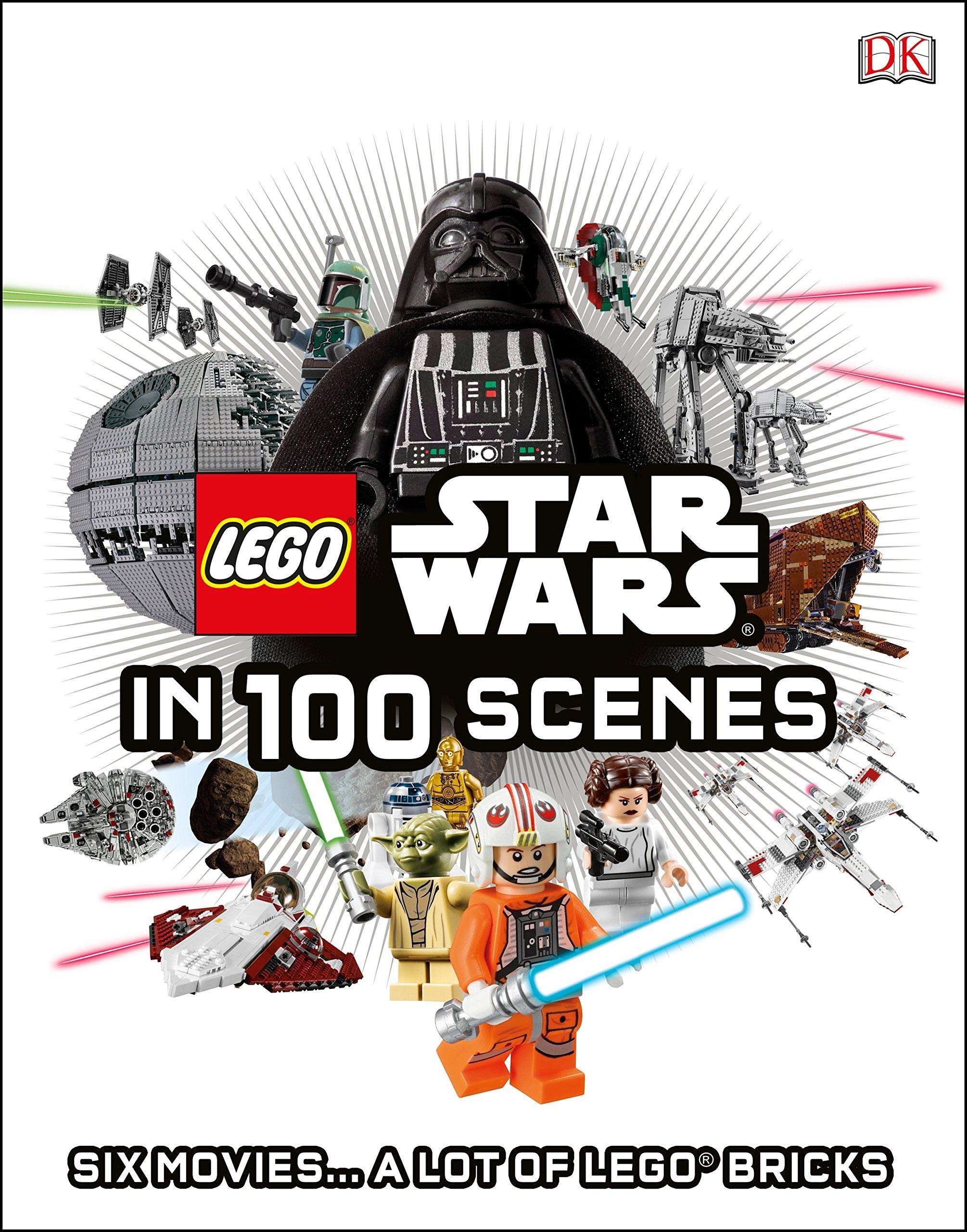 Star Wars Lego in 100 scene