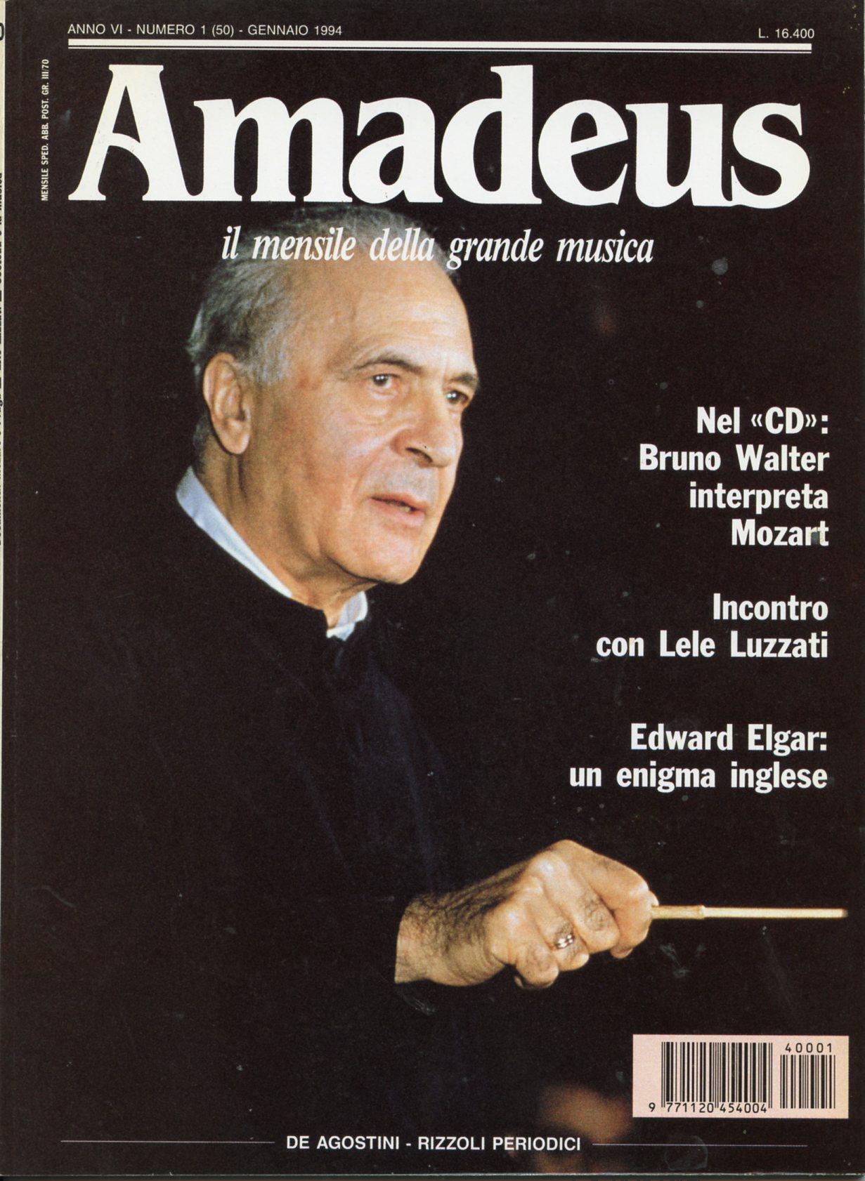 Amadeus: il mensile della grande musica, n. 50