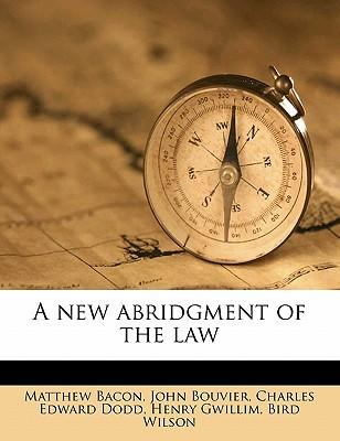 A New Abridgment of ...
