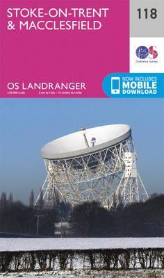 Landranger (118) Stoke-on-Trent & Macclesfield