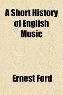 A Short History of English Music