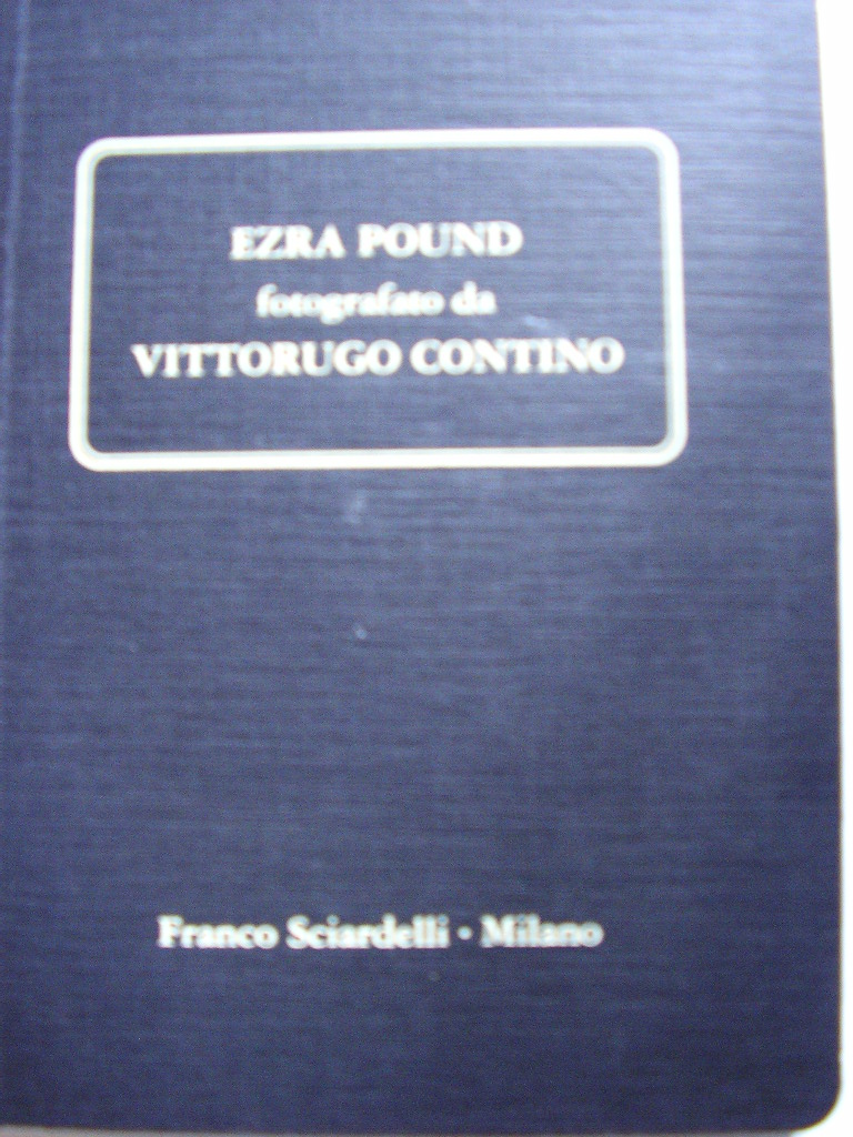 Ezra Pound fotografa...
