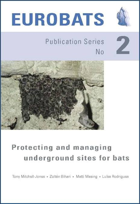 Protecting and managing underground sites for bats