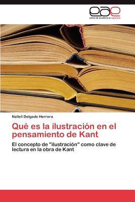 Qué es la ilustración en el pensamiento de Kant