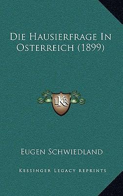 Die Hausierfrage in Osterreich (1899)