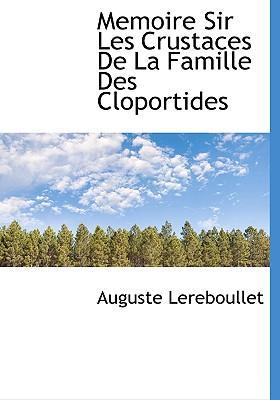 Memoire Sir Les Crustaces de La Famille Des Cloportides