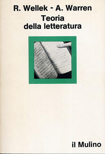 Teoria della letteratura