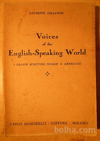 Voices of the english-Speaking world