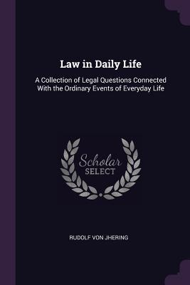 Law in Daily Life