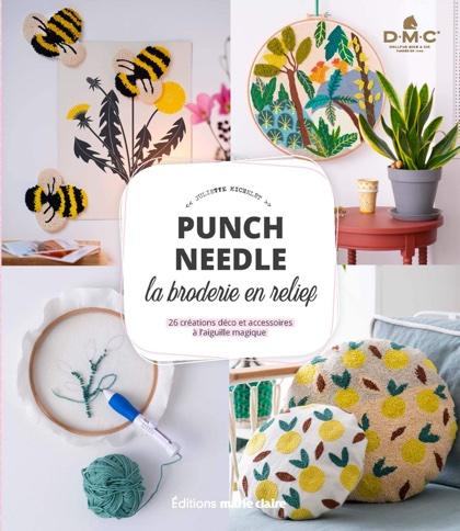 Punch Needle. La broderie en relief