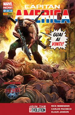 Capitan America #12 Marvel Now!