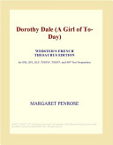 Dorothy Dale (A Girl of To-Day) (Webster's French Thesaurus Edition)