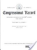 Congressional Record, V. 153, PT. 1, January 4, 2007 to January 17, 2007