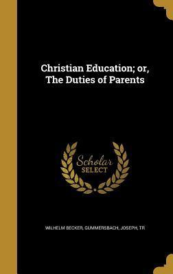 CHRISTIAN EDUCATION OR THE DUT