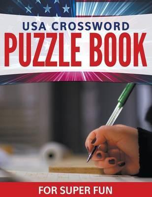 USA Crossword Puzzle Book For Super Fun