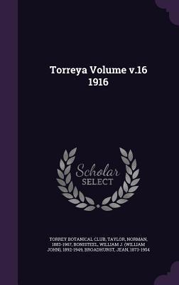 Torreya Volume V.16 1916