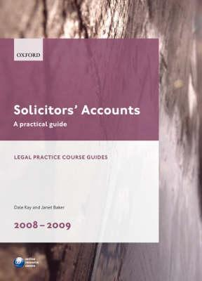 Solicitors' Accounts 2008-2009
