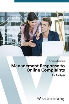 Management Response to Online Complaints
