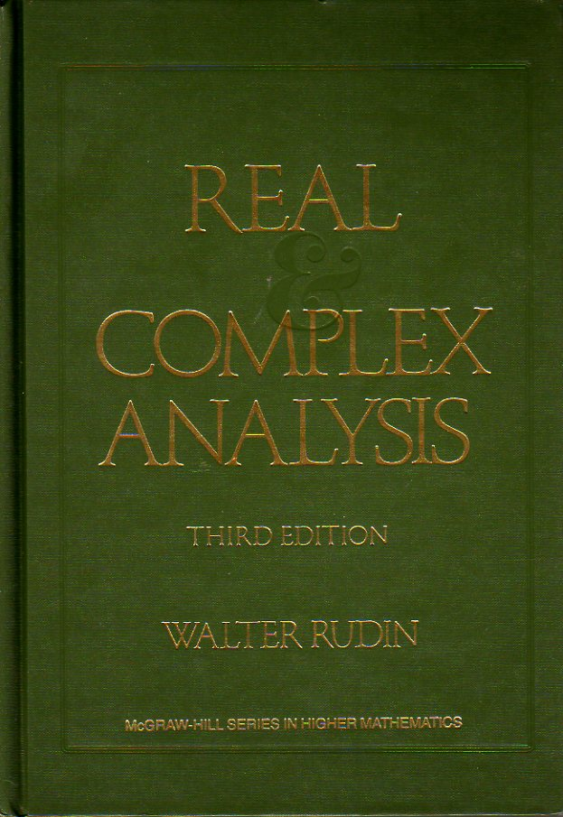 Real and Complex Ana...