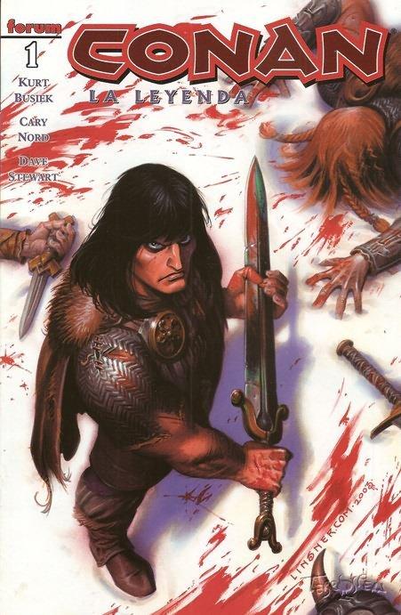 Conan: La leyenda #1