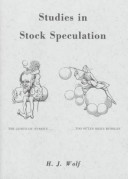 Studies in Stock Speculation