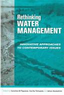Rethinking Water Management