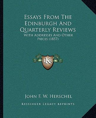 Essays from the Edin...