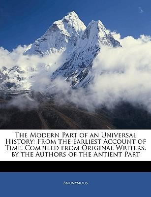 Modern Part of an Universal History