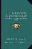 Henry Brocken Henry Brocken