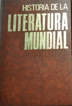 Historia de la literatura mundial, Tomo 1