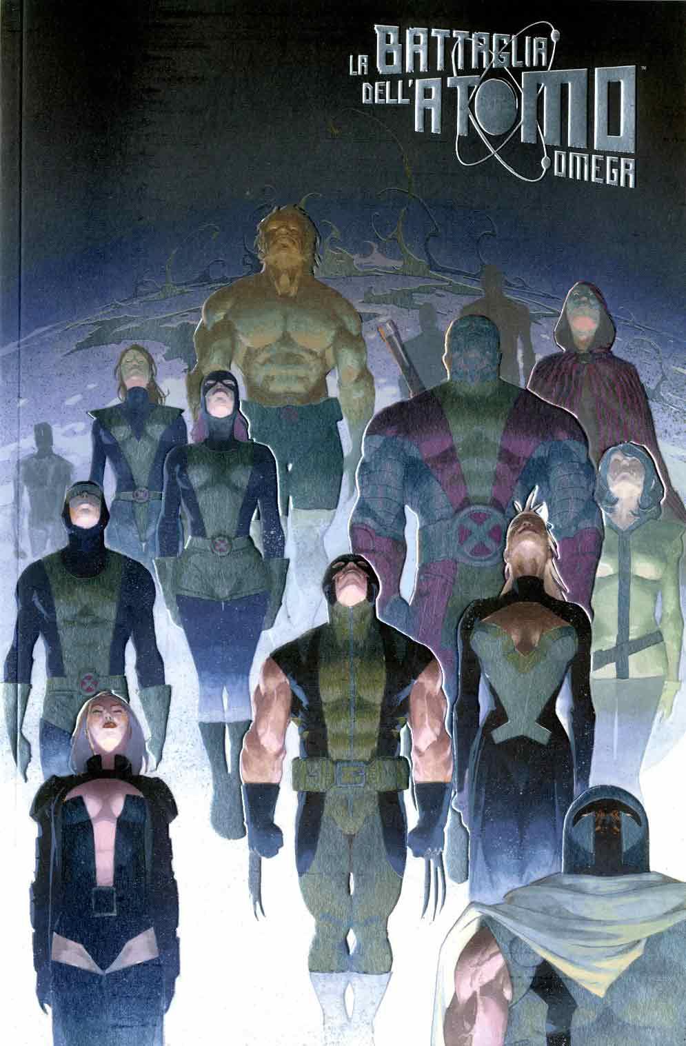 X-Men: La battaglia dell'atomo Omega - Variant FX Metal