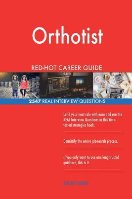Orthotist RED-HOT Ca...
