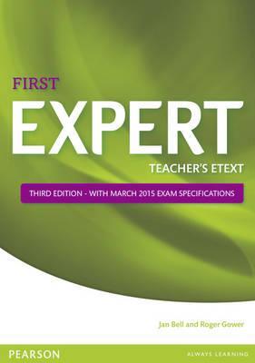 Expert First 3rd Edition eText Teacher's CD-ROM