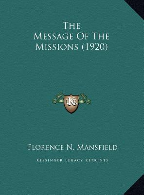 The Message of the Missions (1920)