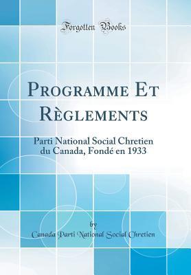 Programme Et Règlements