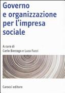Governo e organizzazione per l'impresa sociale