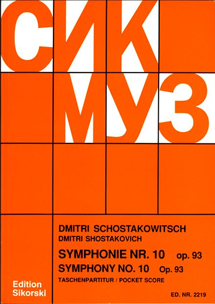 Symphonie nr.10 op.93