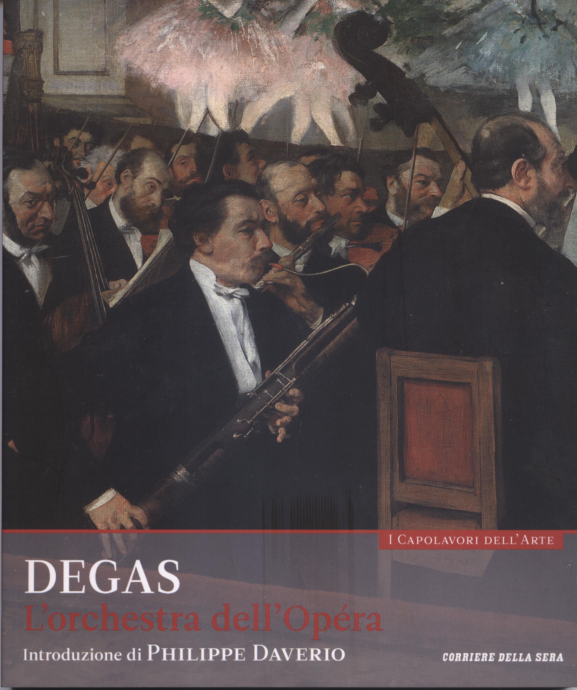 Degas - L'orchestra dell'Opéra