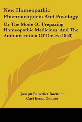 New Homeopathic Pharmacopoeia and Posology