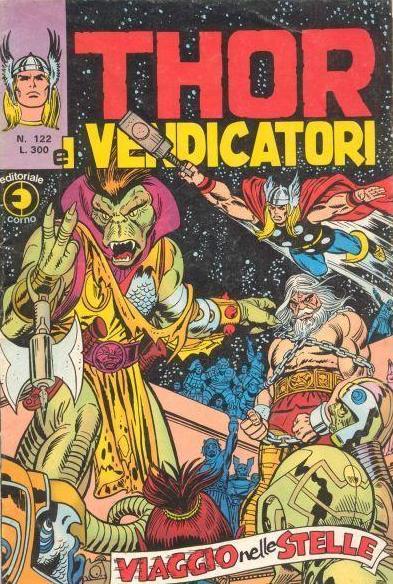 Thor e i Vendicatori (Il Mitico Thor) n. 122