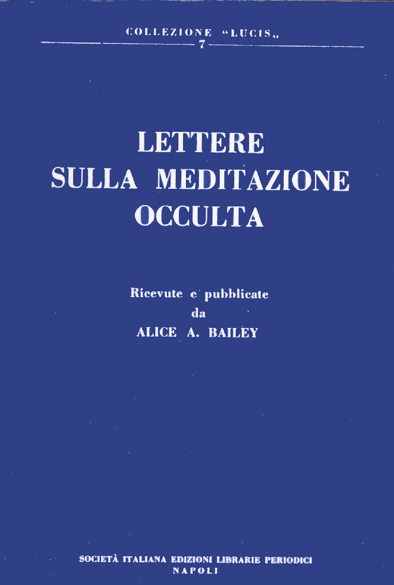 Lettere sulla meditazione occulta