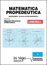 Matematica propedeutica