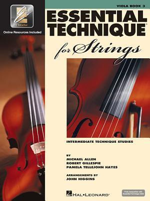 Essential Technique for Strings Viola Book Three