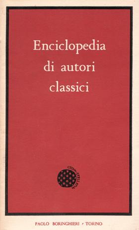 Enciclopedia di autori classici